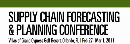 IBF's Supply Chain Forecasting &amp; Planning Conference