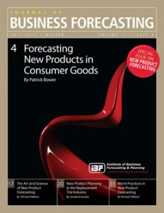 Special JBF Issue on New Product Forecasting