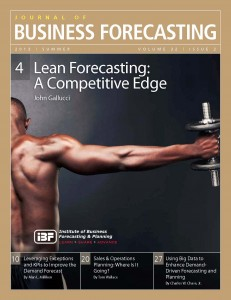Lean Forecasting: A Competitive Edge