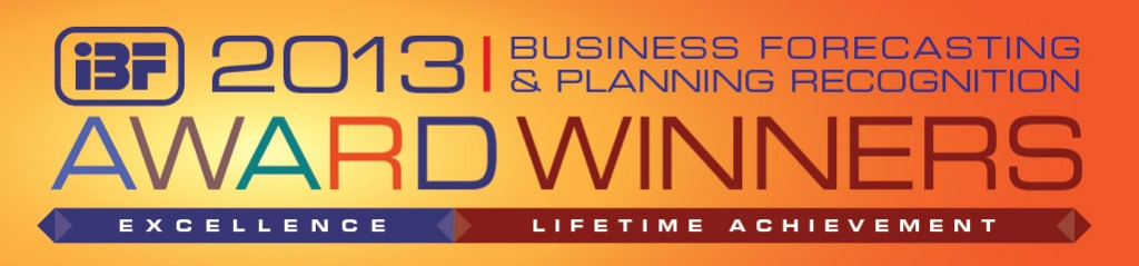 IBF Congratulates our 2013 Business Forecasting & Planning Excellence Award Winners