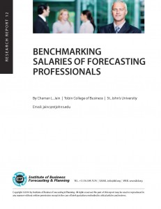 Benchmarking Salaries of Forecasting & Planning Professionals