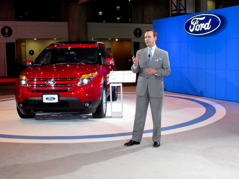 Scott Monty at the International Auto Show in New York City