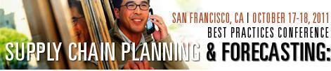 IBF's Supply Chain Planning & Forecasting: Best Practices Conference
